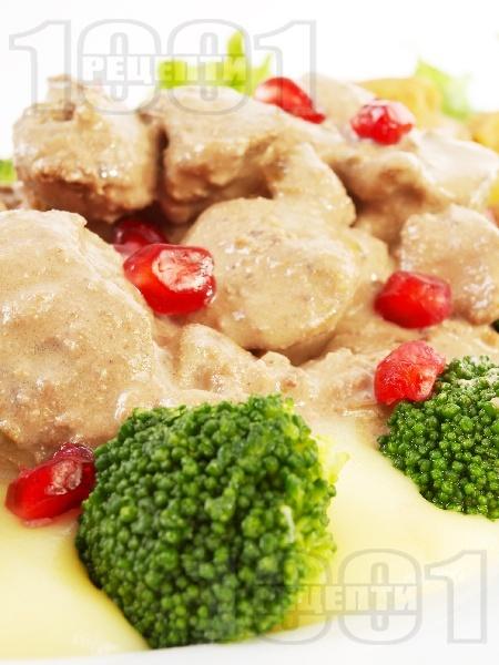 Маринован гъши дроб - снимка на рецептата